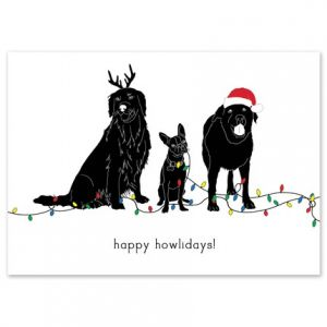 Howlidays Greeting Card