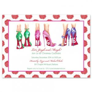 Jingle Heels Invitation