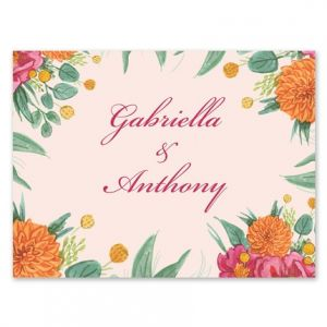 Simply Floral Note Card
