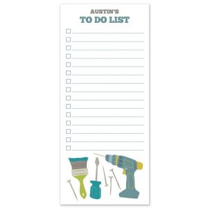 Chore List Note Pad
