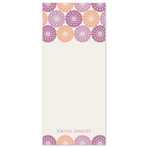 Modern Lace Note Pad