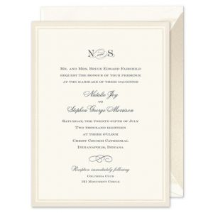 Pearl Band Invitation