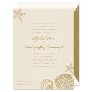 Shells Invitation