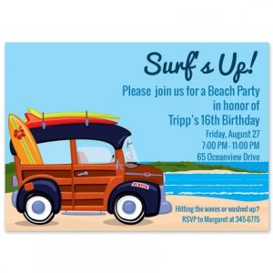 Surfin' Invitation