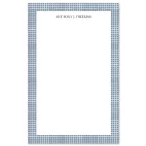 Plaid Note Pad