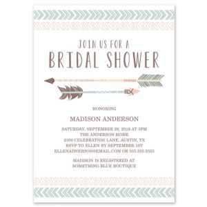 Aztec Shower Invitation