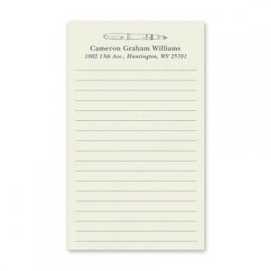 Lined Jotter Card