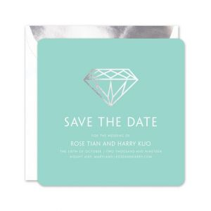 Diamond Save the Date