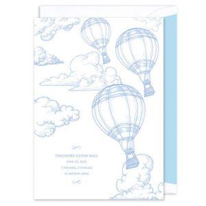 Balloon Birth Announcement