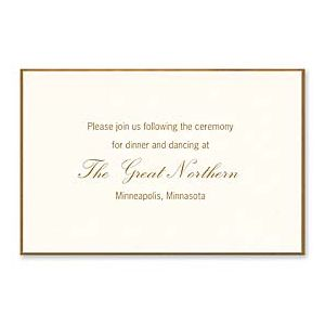 Vera Wang On Weddings 2016 127543 127524 Reception Card