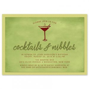 Cocktails Invitation
