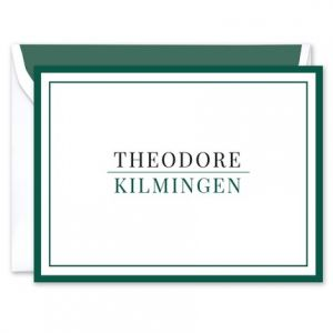 Theodore Note Card