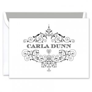 Carla Note Card