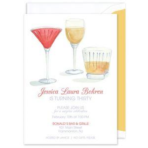 Brunch Cocktails Invitation