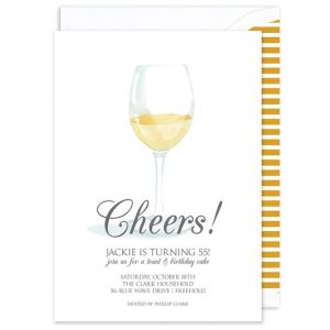 Riesling Glass Invitation