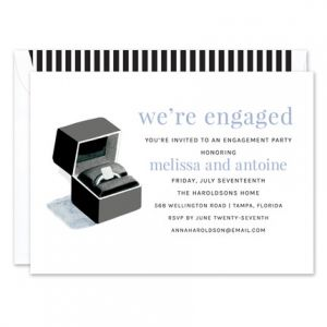 Ring Box Invitation