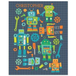 "8"" x 10"" Robots Print"