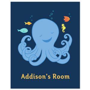 "8"" x 10"" Octopus Print"