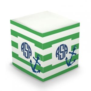 Anchor Sticky Note Cube