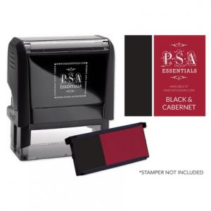 Rectangle Black-Red Refill