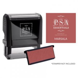 Rectangle Marsala Refill