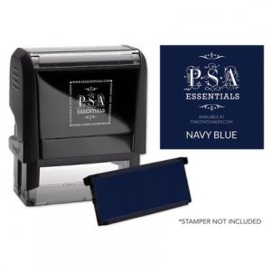 Rectangle Navy Blue Refill