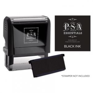 Rectangle Black Ink Refill