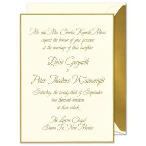 Biltmore Invitation