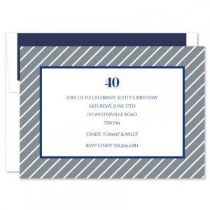 Kent Stripe Invitation