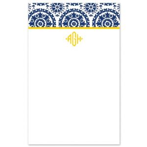 Navy Suzani Note Pad