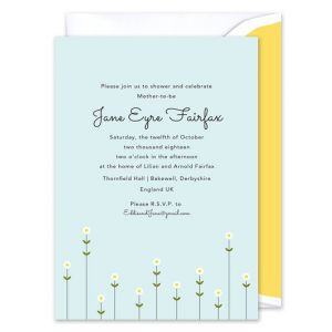 Little Flowers Invitation