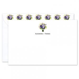 Bridal Bouquet Flat Card