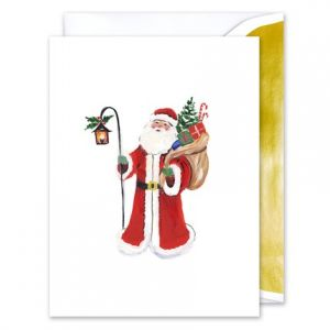 St. Nick Greeting Card