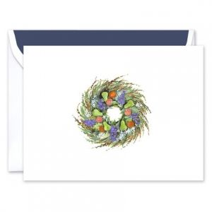 Sage Wreath Greeting Card