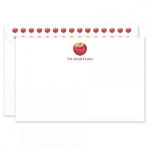 Apple Flat Card
