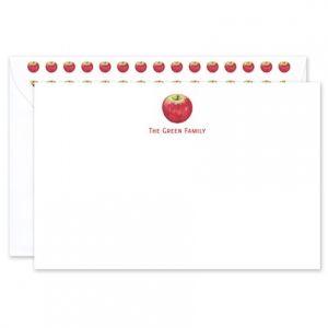 Apple Flat Card