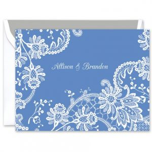 Lace Doily Note Card