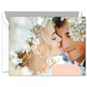 Blush Photo Note Card