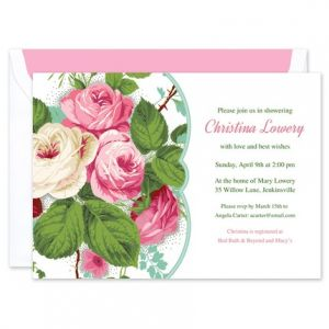 Roses Invitation