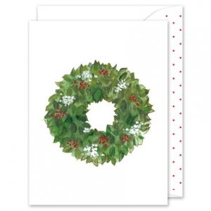 Berry Wreath Greeting Card