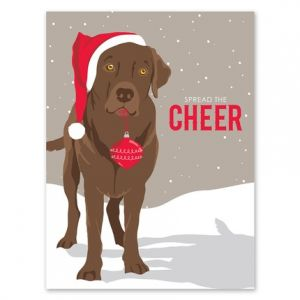 Puppy Cheer Greeting Card