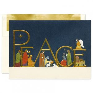 Come in Peace Greeting Card