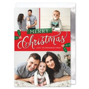 Berry Merry Photo Card