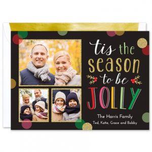 Jolly Season Photo Card
