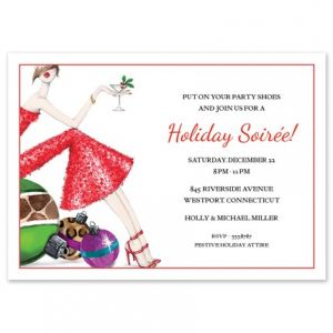 Leopard Ornaments Invitation