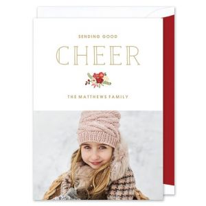 Good Cheer Photo Card