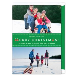 Santa Hat Photo Card