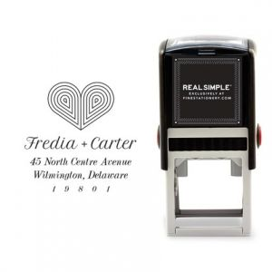 Deco Heart Stamp