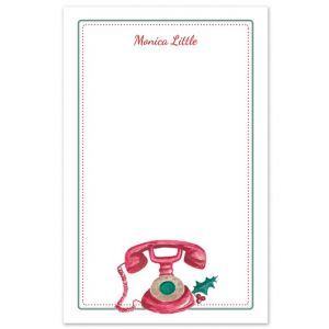 Hello Holidays Note Pad
