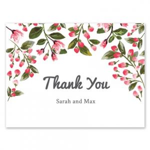 Romantic Vines Note Card